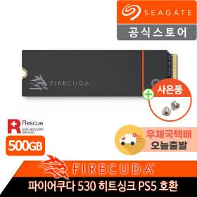 파이어쿠다 530 히트싱크 M.2 NVME SSD 500GB PS5호환