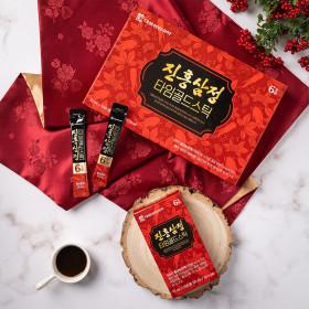 진 홍삼정 타임골드스틱 30포 1박스 / 쇼핑백포함