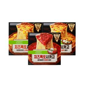 치즈폭포시카고피자 3판 (스위트갈릭2+토마토1)