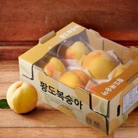 황도복숭아 (5~8입/박스)