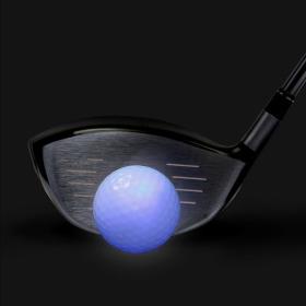 샤이닝 LED 발광 골프공(블루) / 야간라운딩 분실방지