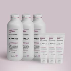[닥터포헤어] 폴리젠 실크 샴푸 500mlx3+70mlx2 (+쇼핑백)
