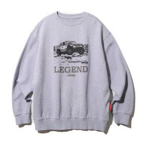Legendary Washing Sweat  M/Grey