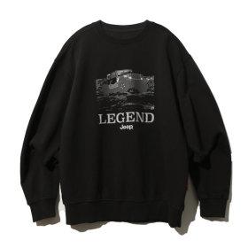 Legendary Washing Sweat  D/Grey