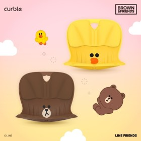 Directly Operated by HQ curble chair WIDER BROWN n FRIENDS BROWN