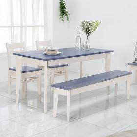 66 테이블 2인 3인용 원목식탁 책상 콘솔 다양한컬러