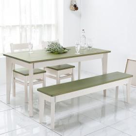 66 테이블  3인 4인용 원목식탁 책상 콘솔 다양한컬러