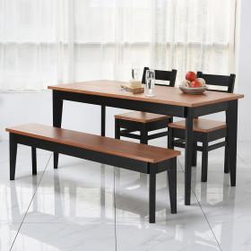 66 테이블  4인 6인용 원목식탁 책상 콘솔 다양한컬러