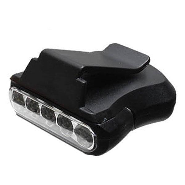 부산가자낚시-LED 캡라이트 LR-A006 헤드렌턴-5구후레 상품이미지