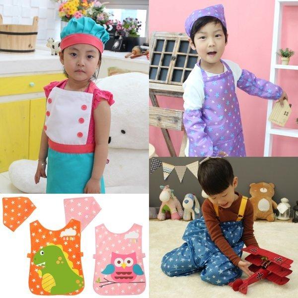 어린이 앞치마/요리사/방수/유아/어린이집/놀이복 상품이미지
