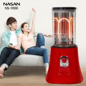 나산 나노카본 전기스토브 난방기 난로 히터 NS-9100