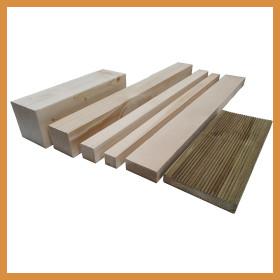 각목 목재 재단 방부목 데크 28 X 68 500mm