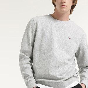 면혼방 솔리드 뱃지 크루넥 스웨트 셔츠 (T32B0TTO25CM
