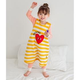 Beating Heart Sleep Vest Baby Winter Anti-stomachache Pajama