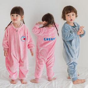 Charming Sleep Sack Kids Winter Fleeced Pajama