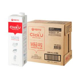 서울우유 클릭유1A등급우유 1000ml x 8입 (1박스)