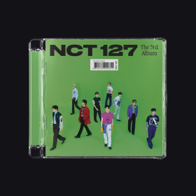 {Ships in the second week of October}(Jewel Case Ver.) NCT 127 - 3rd full album 'Sticker'