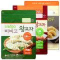 CJ 비비고 왕교자/김치왕교자만두2.1kg(1.05kgx2)