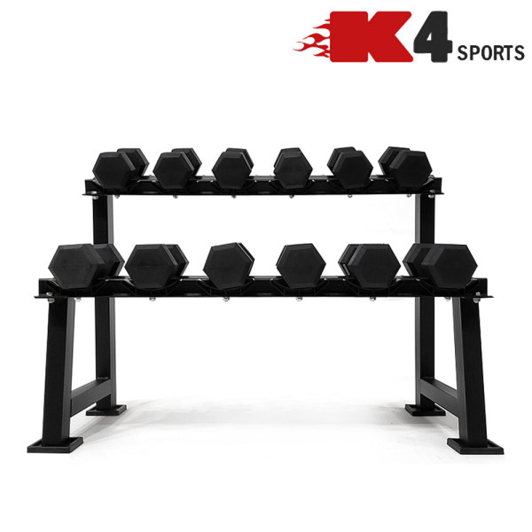 K4스포츠 K4-201 덤벨보관 2단 덤벨랙 진열대 거치대 상품이미지