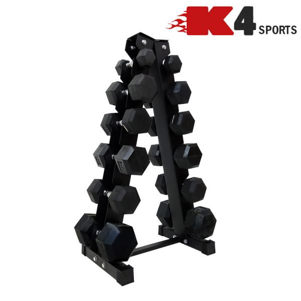 K4스포츠 K4-203 덤벨보관 6단 덤벨랙 진열대 거치대 상품이미지