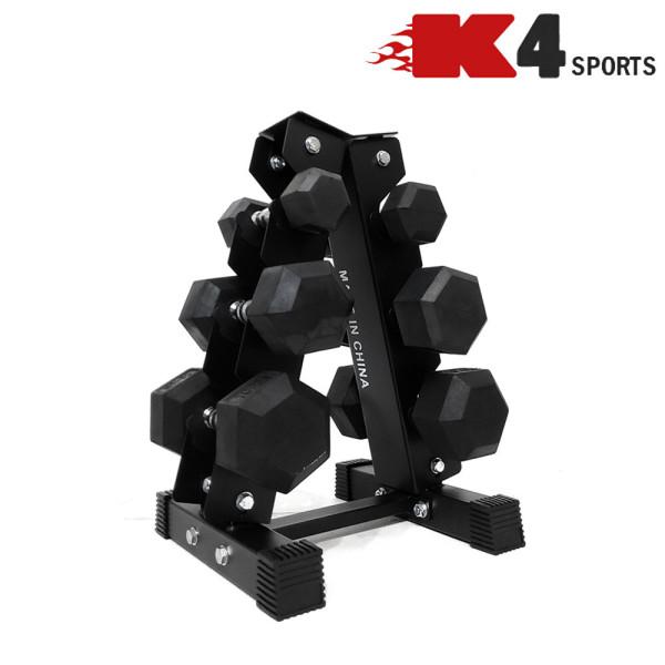K4스포츠 K4-205 덤벨보관 3단 덤벨랙 진열대 거치대 상품이미지