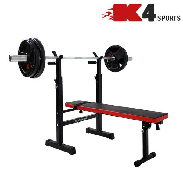 K4스포츠 K4-207 역기벤치 벤치프레스 싯업벤치 홈트 상품이미지