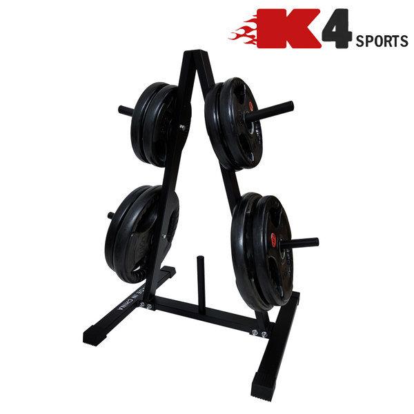 K4스포츠 K4-208 바벨보관 원판랙 진열대 거치대 상품이미지