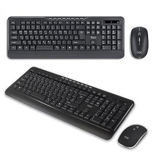TGIC컴퓨터 노트북 무선 키보드마우스세트 TGC-WMK275