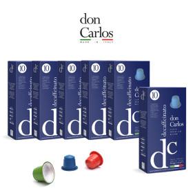 돈 카를로스 네스프레소 호환 캡슐 디카페인 60캡슐