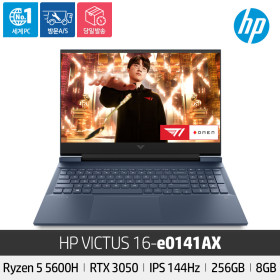 HP VICTUS 16-e0141AX 5600H/RTX3050/IPS/144Hz/256GB
