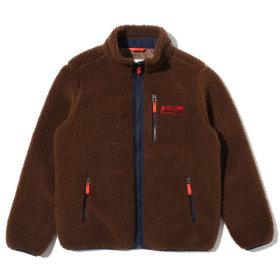 Small M-logo Fleece Zip-Up (GK5TZU421BR)