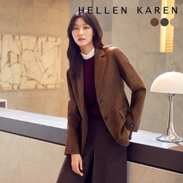 헬렌카렌 THE PREMIUM 영국 MOON 울100 재킷 상품이미지
