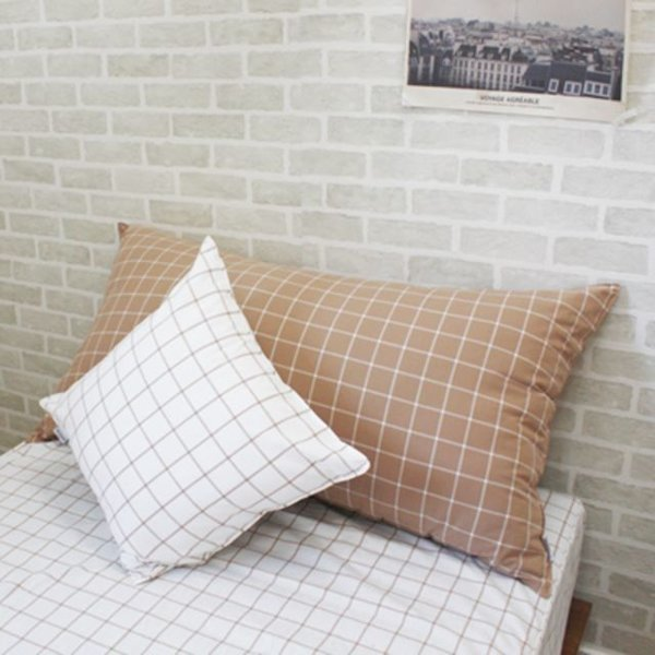 웨하스 카라멜 등쿠션(솜포함)  110 x 60cm 상품이미지