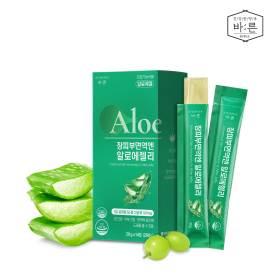 장피부면역엔 유기농 알로에젤리 1박스(14포)