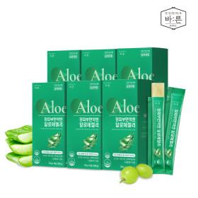 장피부면역엔 유기농 알로에젤리 6박스x(14포)