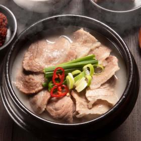 맘으로 돼지국밥 500gx4팩 높은고기함량 진한국물 특가