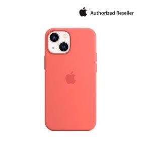 Apple 정품 맥세이프 아이폰 13 미니 실리콘 케이스 핑크 포멜로 MM1V3FE/A