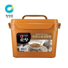 무료배송 순창 재래식 숙성 4.8kg 숙성된장 대용량