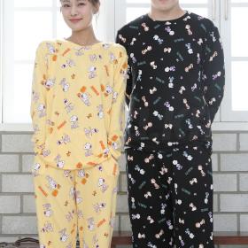 피치기모 남성 여성 상하세트 (잠옷/파자마) PA112