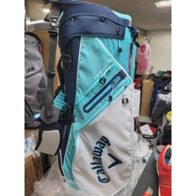 [캘러웨이] 해외배송 2~3주  한정판 스탠드백 골프백 경량14구 민트색