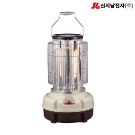 신지남 3kw 카본 원통형 전기 난로 히터 SEU-380A
