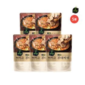 [비비고] (CJ제일제당)  스팸부대찌개 460G 5봉