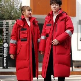 PJ12남녀공용 신상  커플 다운후드 패딩 캐주얼 자켓