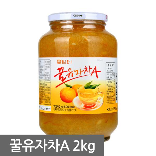 담터 꿀유자차 2kg/유자차/레몬차/모과차/생강차 상품이미지