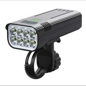 T6 충전식 LED 자전거 라이트 전조등 후레쉬 JK40