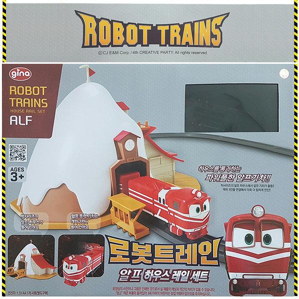 로봇트레인 알프하우스레일세트 기차놀이 어린이선물 상품이미지