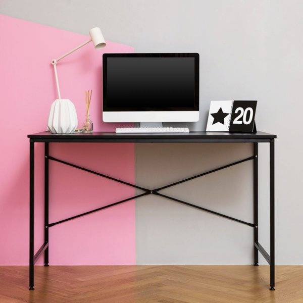 베이직입식책상1200/테이블/컴퓨터/사무용/학생/책장 상품이미지