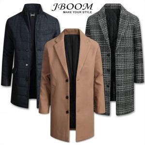 코트 남자 남성 겨울 자켓 패딩 롱 오버핏 모직코트