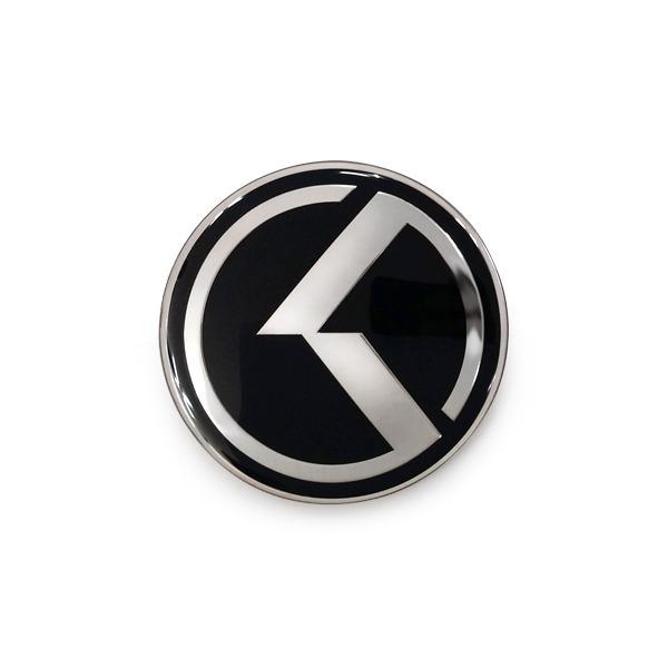 기아 순정형 스타일리쉬 K엠블럼 휠캡 4개1세트 상품이미지