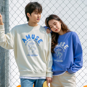 ALVINCLO Unisex tops collection / sweatshirt / hoodie / pull-over / graphic printed / lettering /